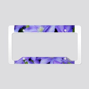 Purple Wildflowers for FMS License Plate Holder